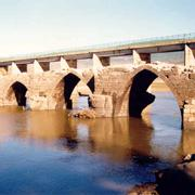 Move, Restoration and Relocation of Medieval Roman 'San Mateo' Bridge