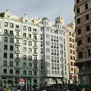 HOTEL IN C/ GRAN VÍA 42, MADRID. SPECIAL PLAN FOR CHANGE OF USE