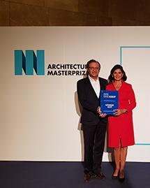 La rehabilitación de Castellana 81 ha sido galardonada por The Architecture Masterprize 2019.