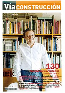 Antonio Ruiz Barbarin is interviewed by the magazine Via Construcción