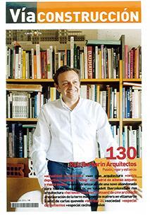 Antonio Ruiz Barbarin en Vía Construcción para su 'Entrevista de Portada'.